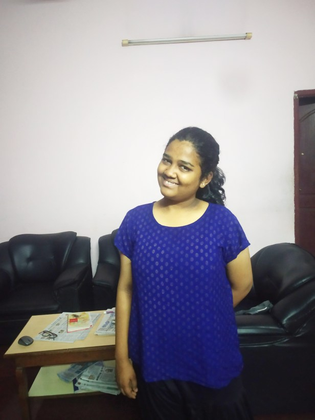 Pooja Sakthivel's new school library consolidated her reading habits
