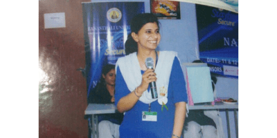 Though initially interested only in philosophy, Nidhi eventually broadened her horizons