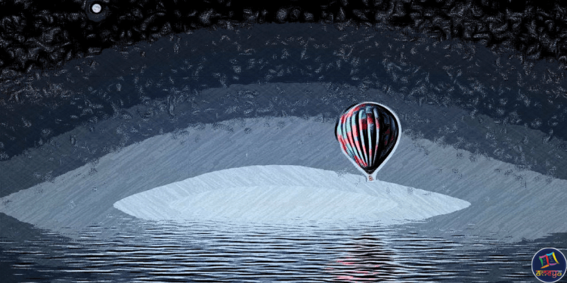Hot Air Balloon is a poem about a motherless girl's heartfelt desire to see her deceased mom