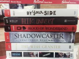 These are all the ARCs we got!
