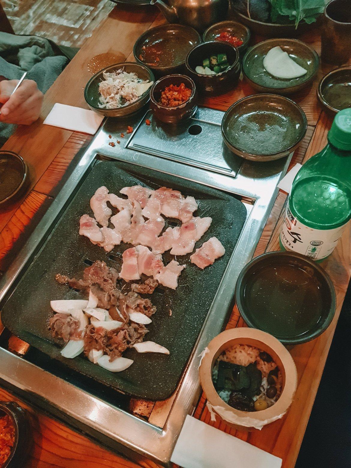 Korean BBQ etiquette