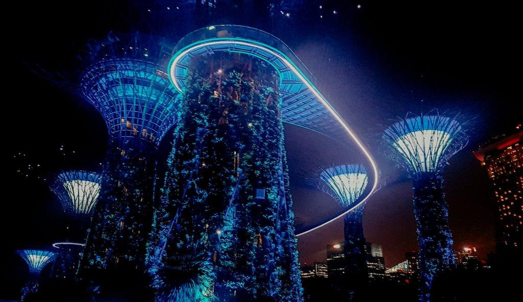 lights singapore garden