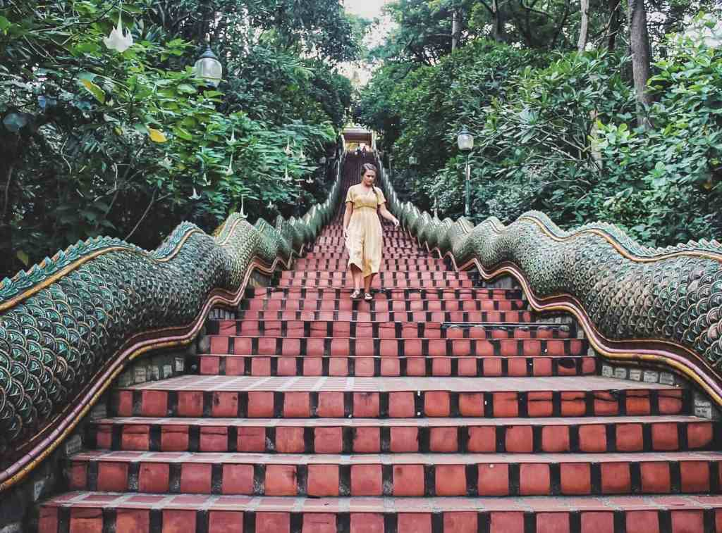 Naga_Staircase thailand
