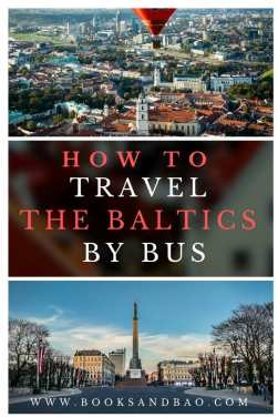 How to Travel the Baltics by Bus - Riga, Tallinn , and Vilnius | Books and Bao