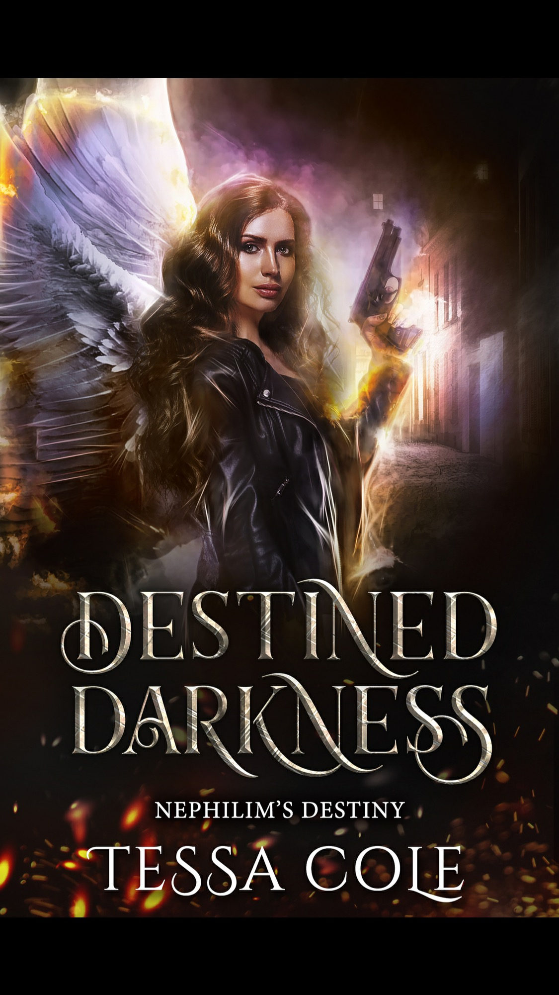 Destined Darkness by Tessa Cole - A Book Review: Wonderful start to a new series! #RH #PNR #WhyChoose #WouldRecommend #Angels