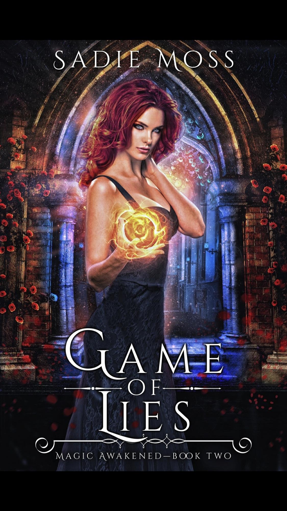 Game of Lies by Sadie Moss - Book Review #Whychoose #slowburn #RH #ReverseHarem #Worthit #PNR @sadiemossauthor