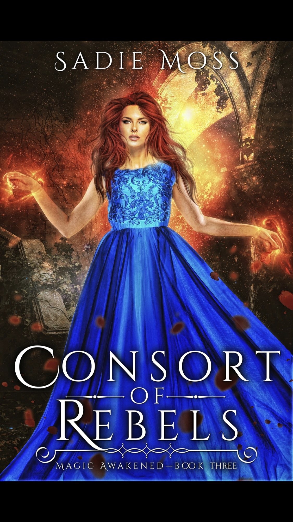 Consort of Rebels by Sadie Moss - Book Review #RH #PNR #WhyChoose #Fantastic #trilogy #ParanormalRomance #SlowBurn