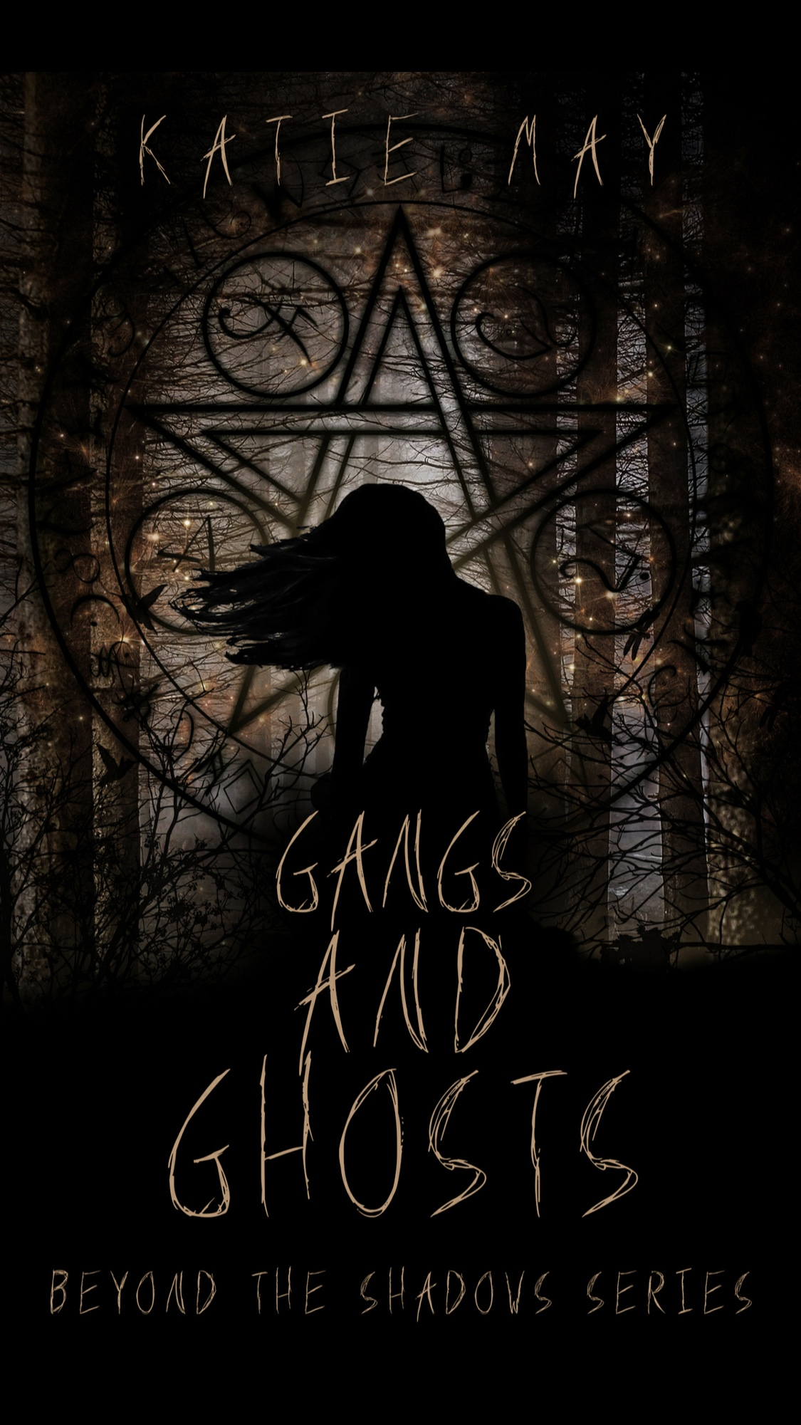 Gangs and Ghosts by Katie May - Book Review #Horror #Urban Fantasy #YA/NA #RH #Slowburn #FirstInSeries