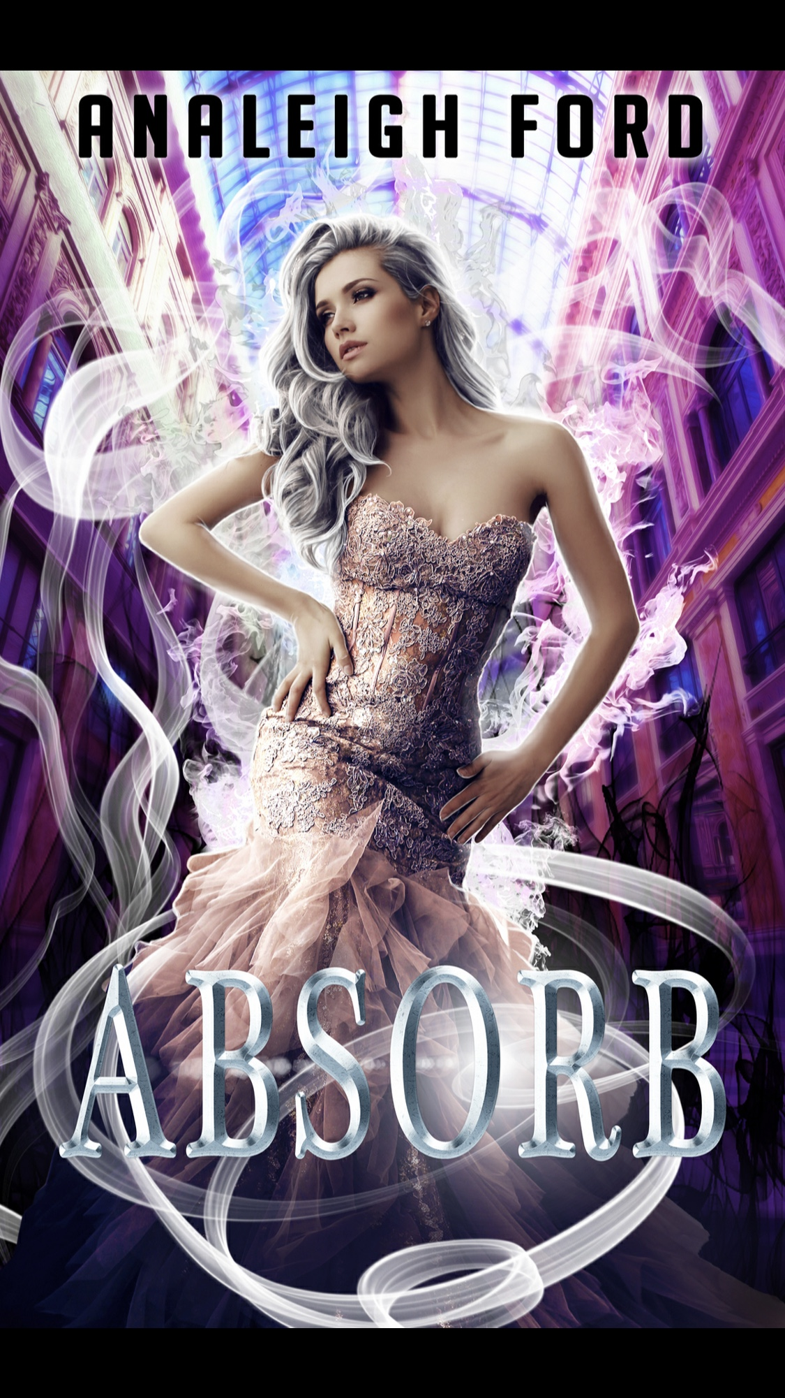 Absorb by Analeigh Ford - A Book Review #Reverseharem #RH #ParanormalRomance #PNR #Academy #Powers