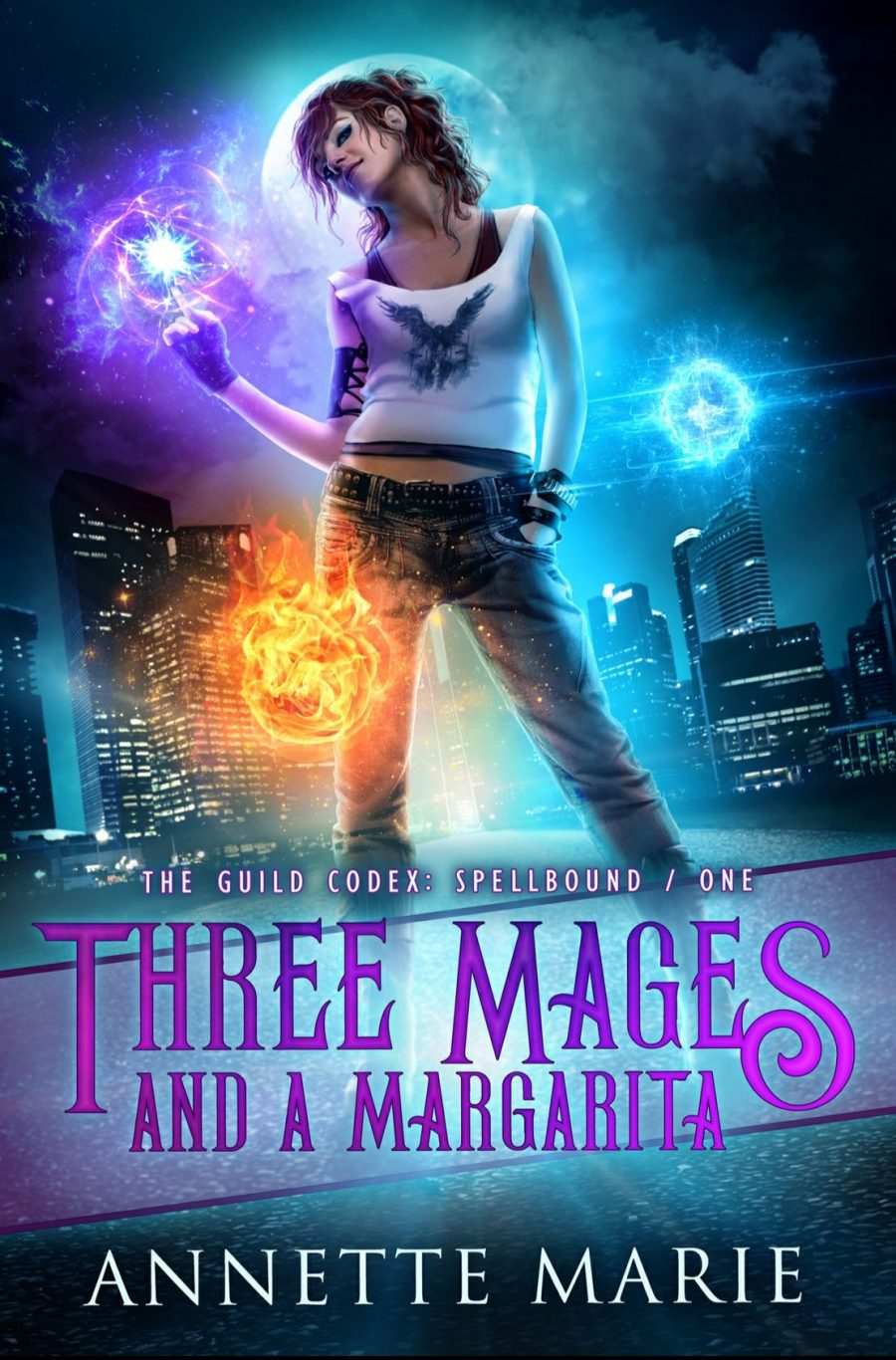 Three Mages and a Margarita by Annette Marie – A Book Review