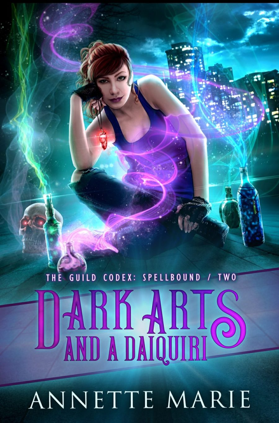 Dark Arts and a Daiquiri by Annette Marie – A Book Review