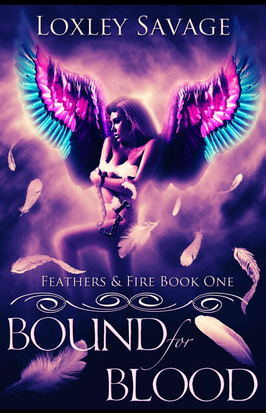 Bound for Blood by Loxley Savage - A Book Review #BookReview #Dark #WhyChoose #FastBurn #RH #Paranormal #PNR #Amazing #MustRead #BooksAndBlurbs