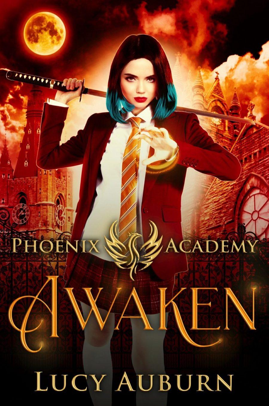 Awaken *Phoenix Academy - Book 1* by Lucy Auburn - A Book Review #BookReview #UrbanFantasy #RH #WhyChoose #ReverseHarem #SlowBurn
