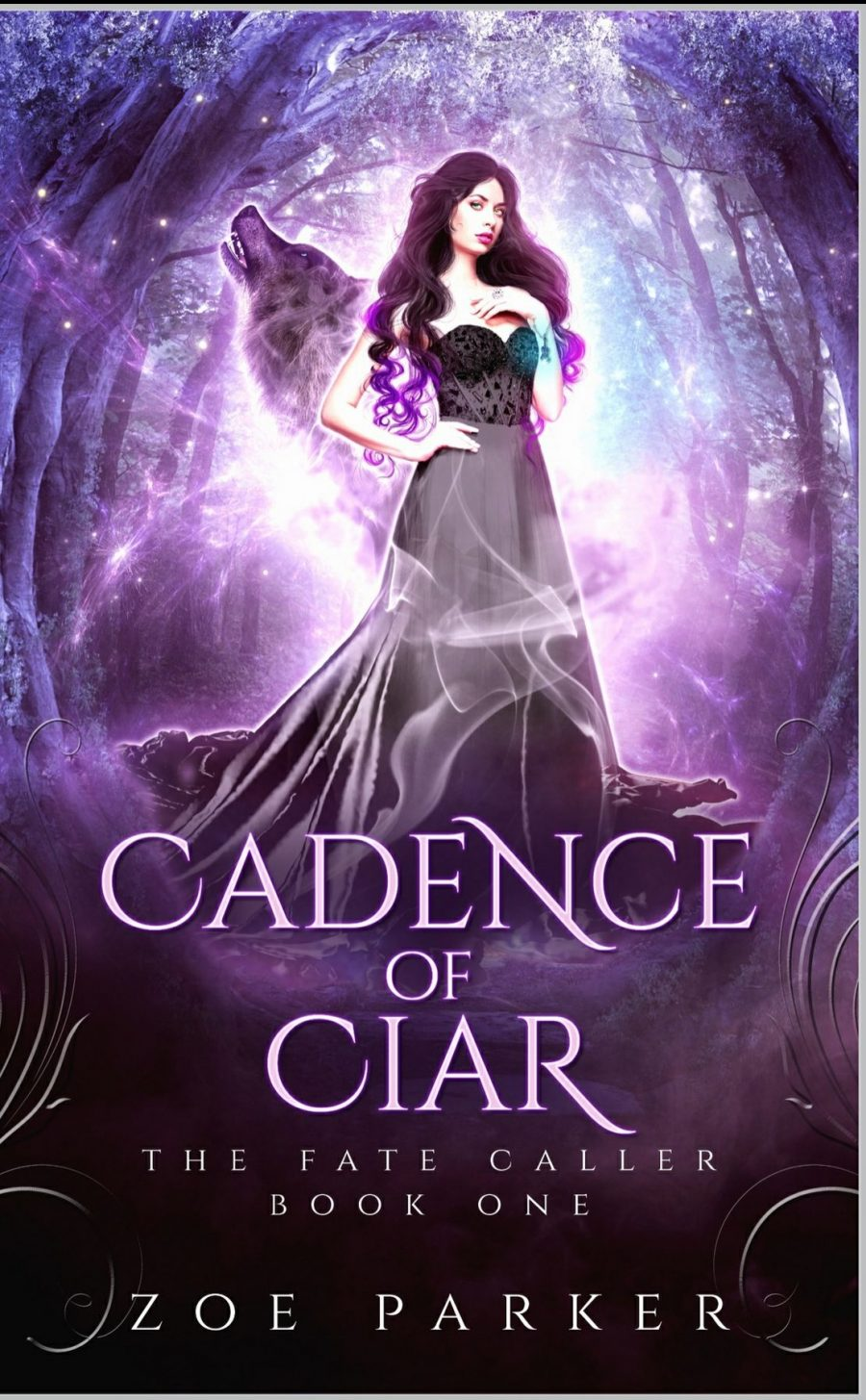 Cadence of Ciar *The Fate Caller - Book 1* by Zoe Parker - A Book Review #BookReview #Fantasy #RH #WhyChoose #ReverseHarem #SlowBurn #5Star