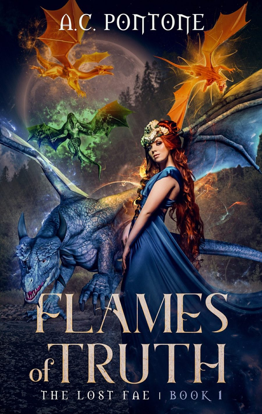 Flames of Truth by A.C. Pontone – A Book Review
