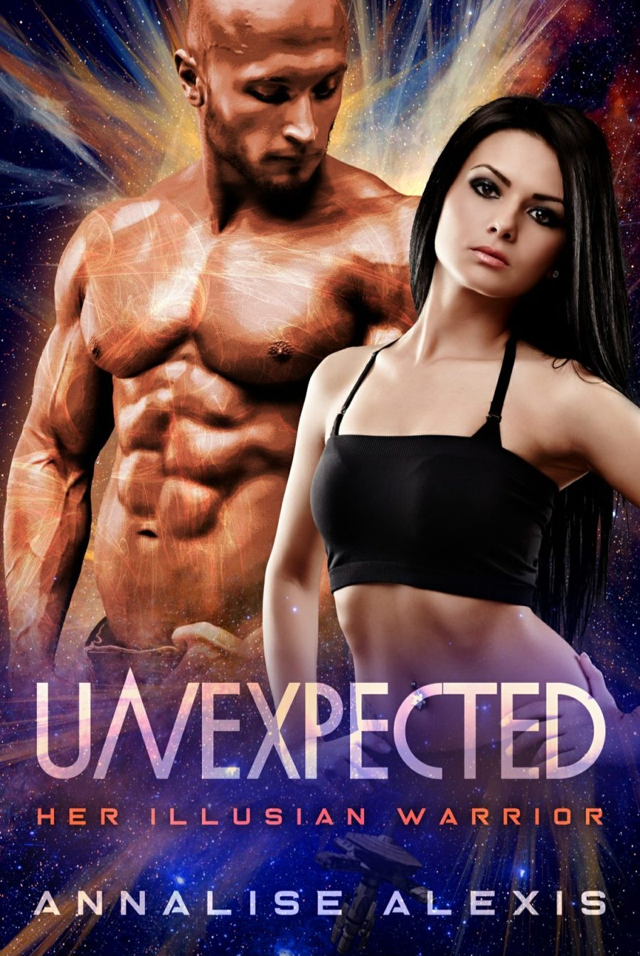 Unexpected: Her Illusian Warrior - Book 1 by Annalise Alexis - A Book Review #BookReview #Review #AlienRomance #SpaceStation #FirstInSeries #FastBurn