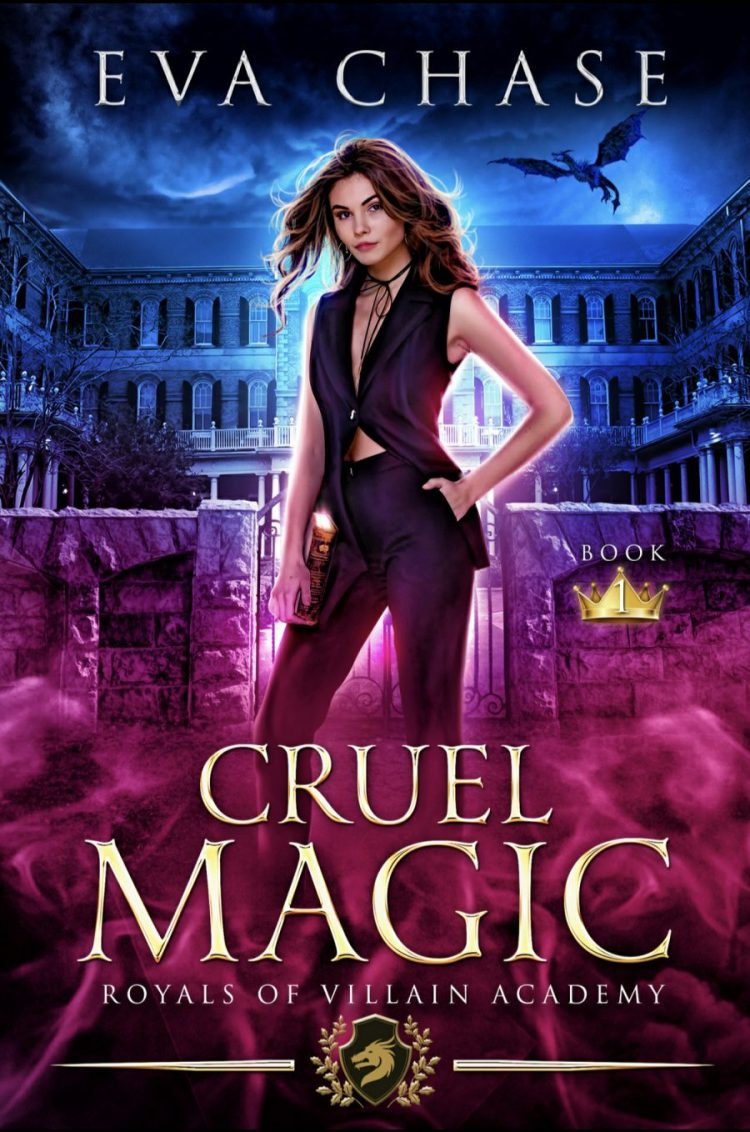 Cruel Magic by Eva Chase - A Second Look Book Review #BookReview #RH #WhyChoose #SlowBurn #ReverseHarem #Academy #Magic #WouldRecommend #Villains