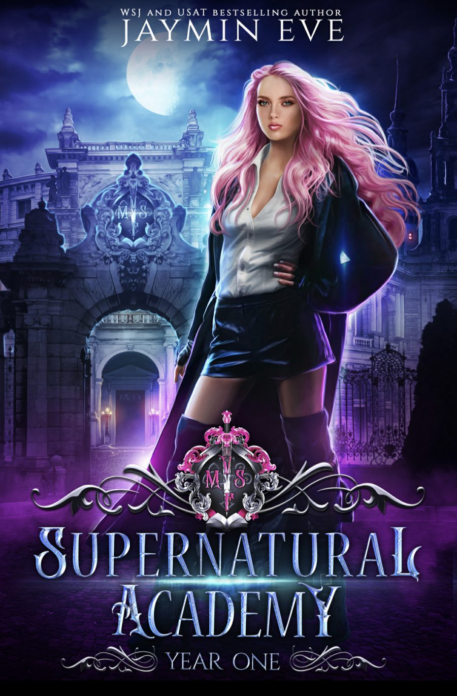 Supernatural Academy: Year One by Jaymin Eve - A Book Review #BookReview #UF #UrbanFantasy #Academy #School #Supernatural