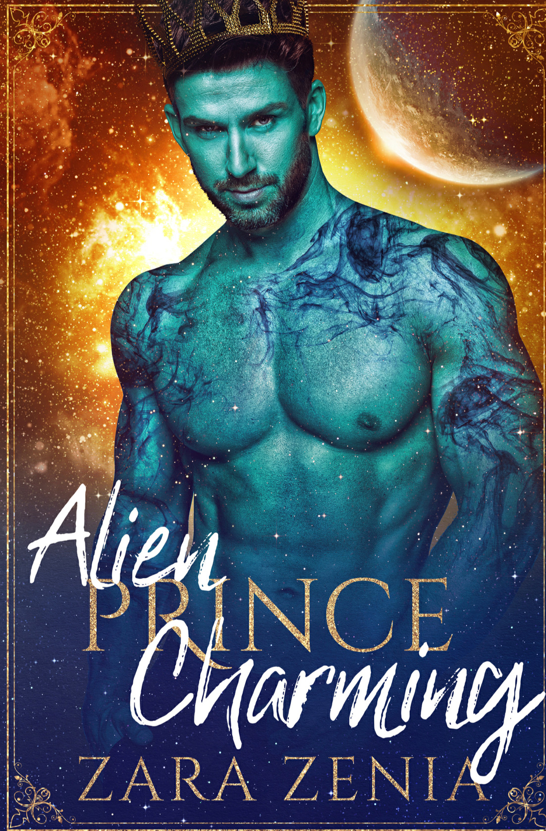Alien Prince Charming by Zara Zenia - A Book Review #BookReview #Review #Alien #Fairytale #HEA #StandAloneWithinSeries #Silly #KU