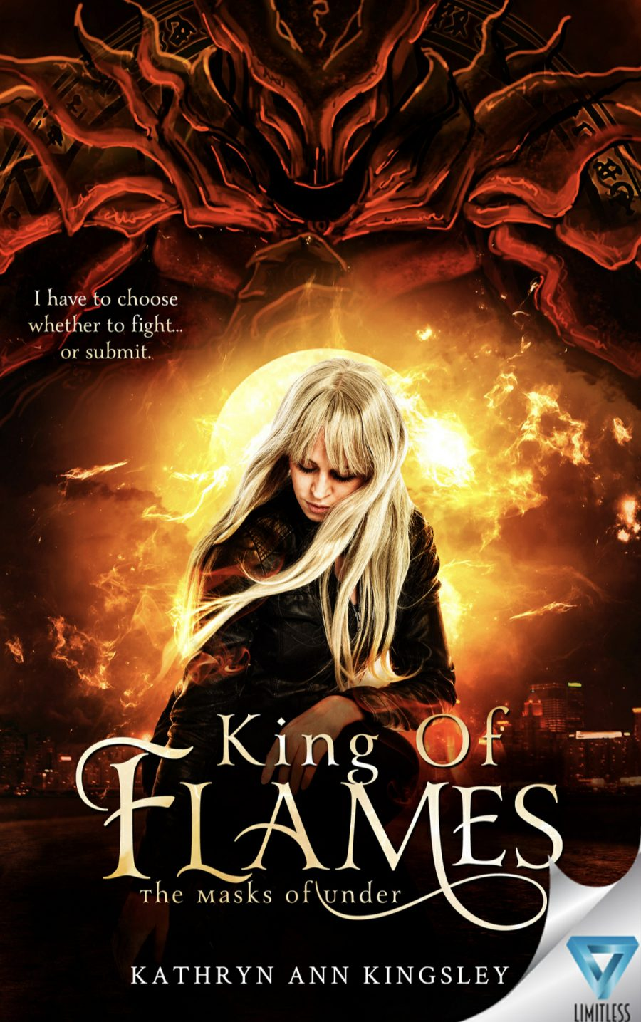 King of Flames by Kathryn Ann Kingsley - A Book Review #BookReview #Review #UrbanFantasy #UF #Cliffhanger #Realms #Fantastic #WouldRecommend