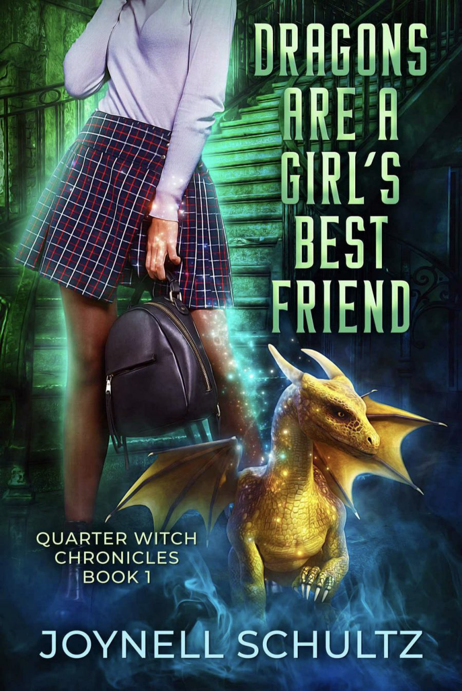 Dragon's are a Girl's Best Friend by Joynell Schultz - A Book Review #BookReview #Review #PNR #Paranormal #Romance #NewRelease #FirstInSeries #Witch #KU
