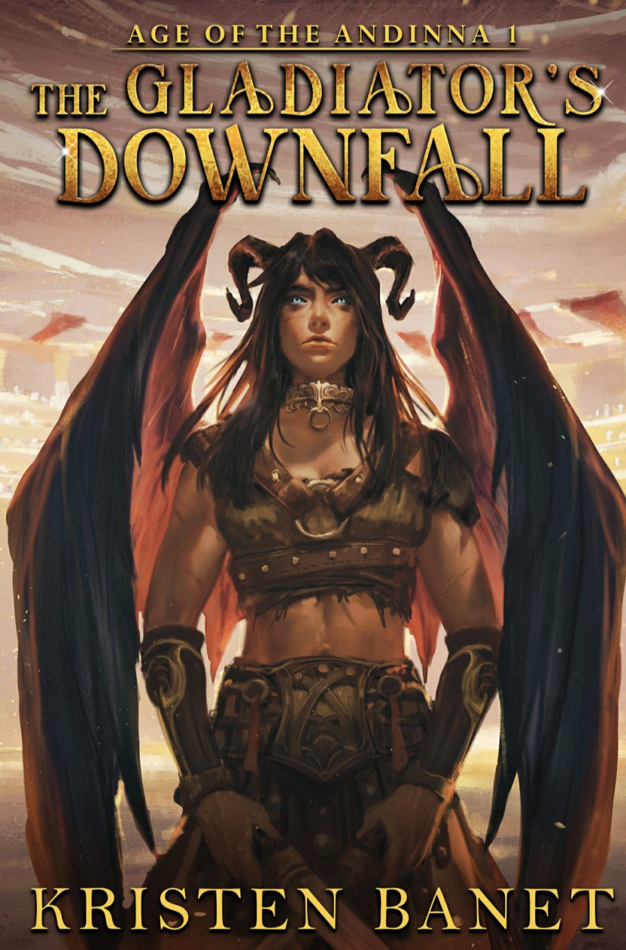 The Gladiator's Downfall by Kristen Banet - A Book Review #BookReview #RH #Whychoose #EpicFantasy #Fantasy #Epic #5Stars #KindleUnlimited #Amazing