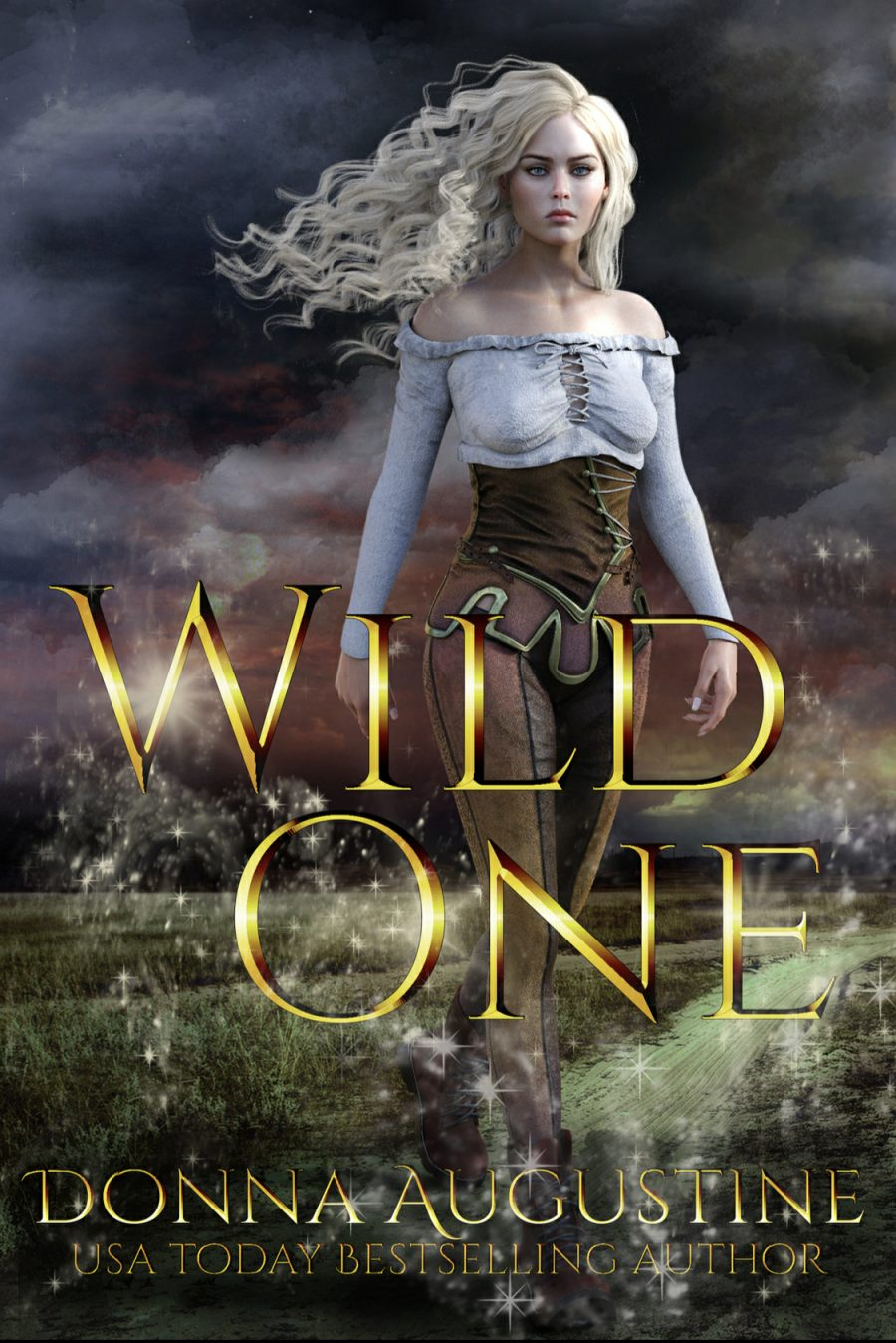 Wild One by Donna Augustine - A Book Review #BookReview #Review #Dystopian #Romance #Paranormal #PNR #NewSeries #Book1 #4Star #TheWilds #KindleUnlimited #KU