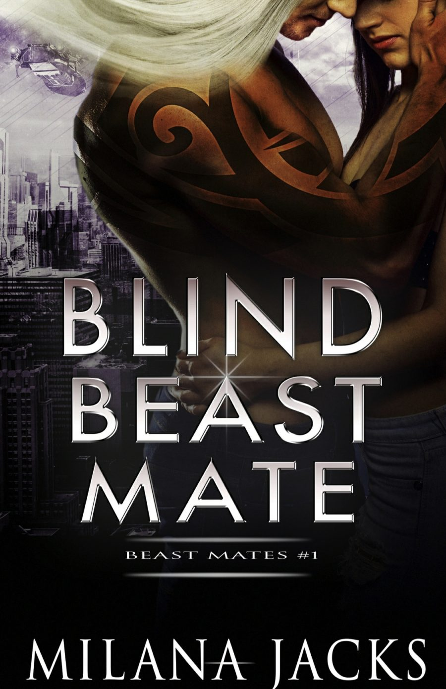 Blind Beast Mate by Milana Jacks - A Book Review #BookReview #Review #PNR #Dystopian #FatedMates #Alien #Novella #3StarRead #KindleUnlimited #KU