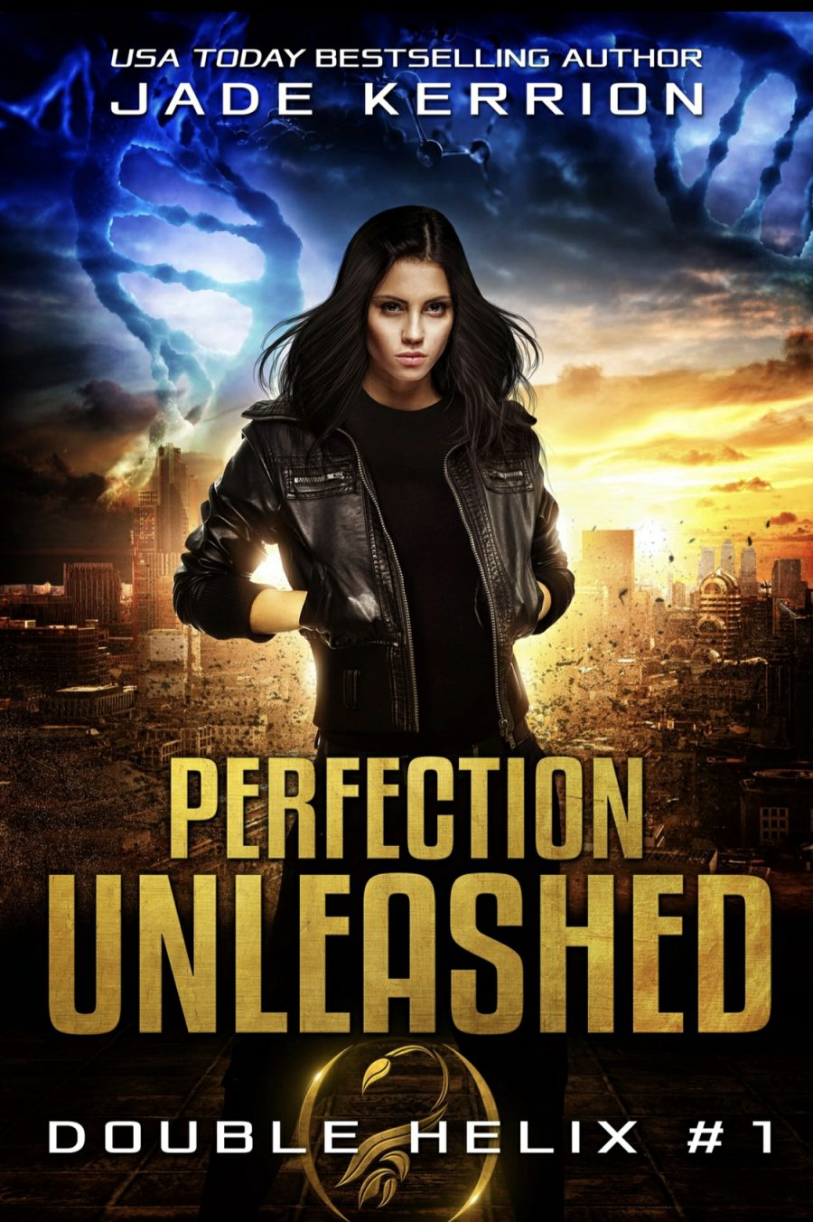 Perfection Unleashed by Jade Kerrion - A Book Review #BookReview #Review #SciFi #4Star #FirstInSeries #Cliffhanger #XMen #Mutants #KindleUnlimited #KU