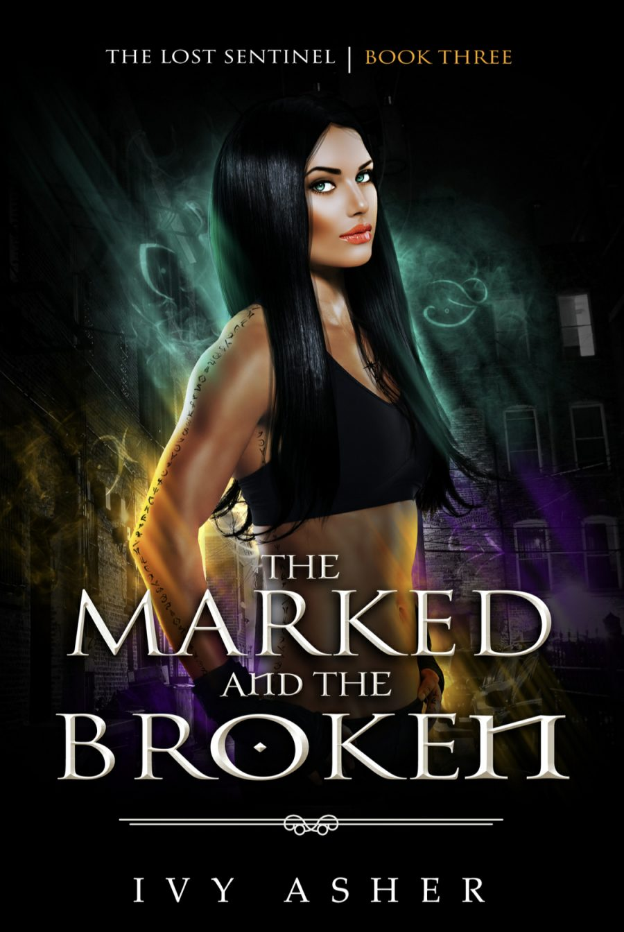 The Marked and The Broken (The Last Sentinel - Book 3) by Ivy Asher - A Book Review #BookReview #5Star #PNR #Series #RH #ReverseHarem #WhyChoose #KindleUnlimited