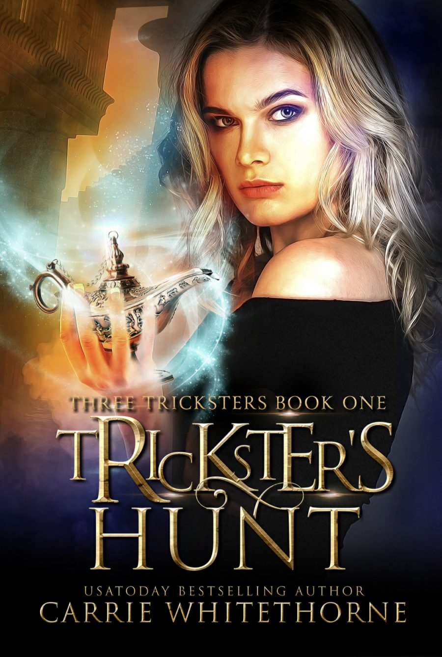 Trickster's Hunt by Carrie Whitethorne - A Book Review #BookReview #MediumBurn #ReverseHarem #RH #WhyChoose #Paranormal #Genie #KindleUnlimited #KU