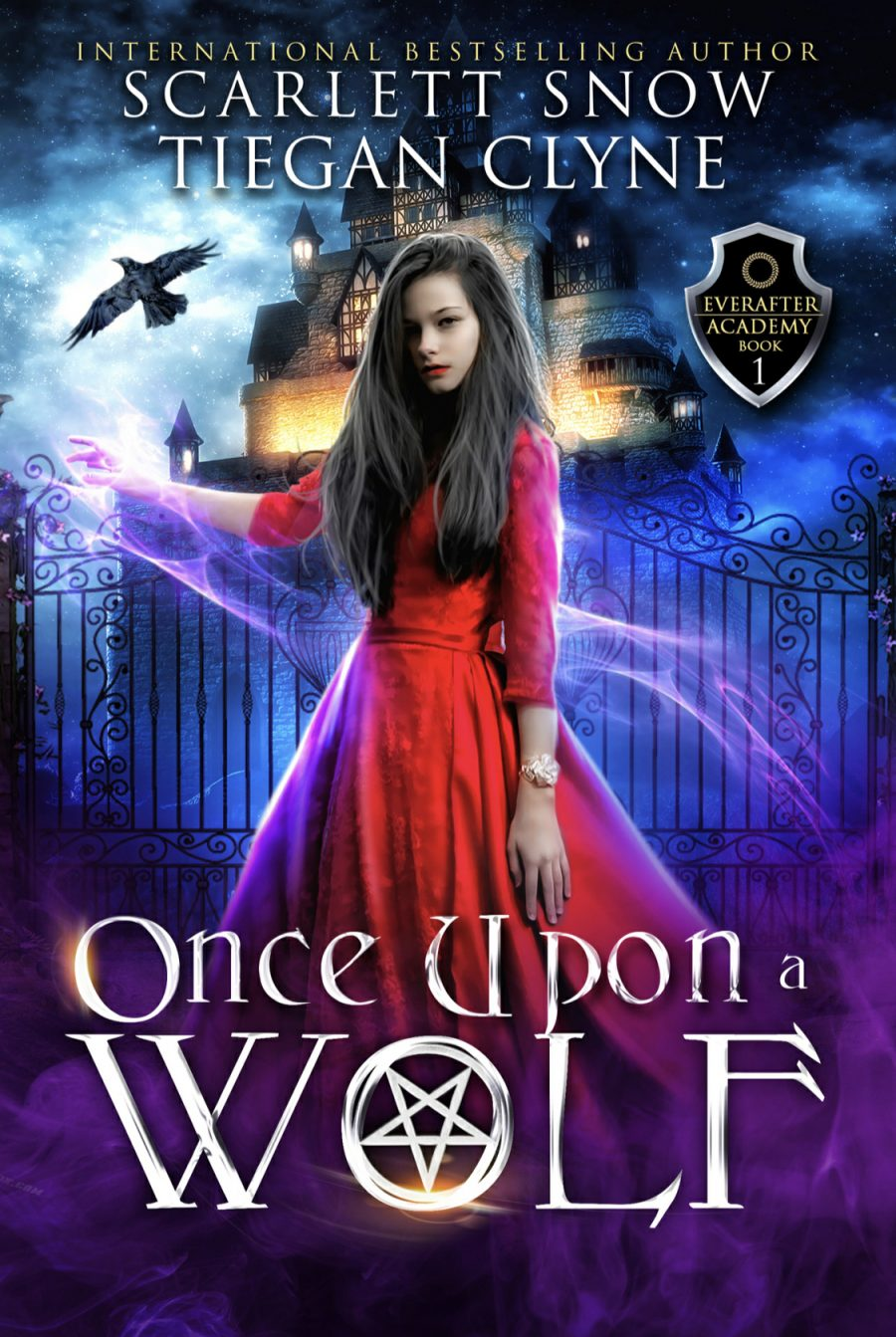 Once Upon A Wolf by Scarlett Snow & Tiegan Clyne - A Book Review #DarkRomance #Academy #Fantasy #RH #ReverseHarem #WhyChoose #4Stars #KindleUnlimited #KU