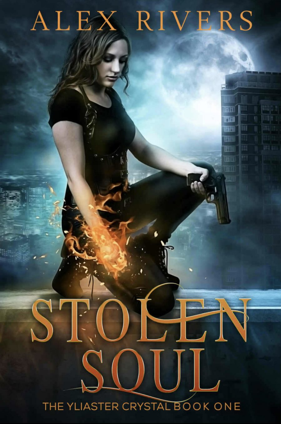 Stolen Soul (The Yliaster Crystal - Book 1) by Alex Rivers - A Book Review #BookReview #UrbanFantasy #UF #KindleUnlimited #KU #Dragons #Vampires #Thieves
