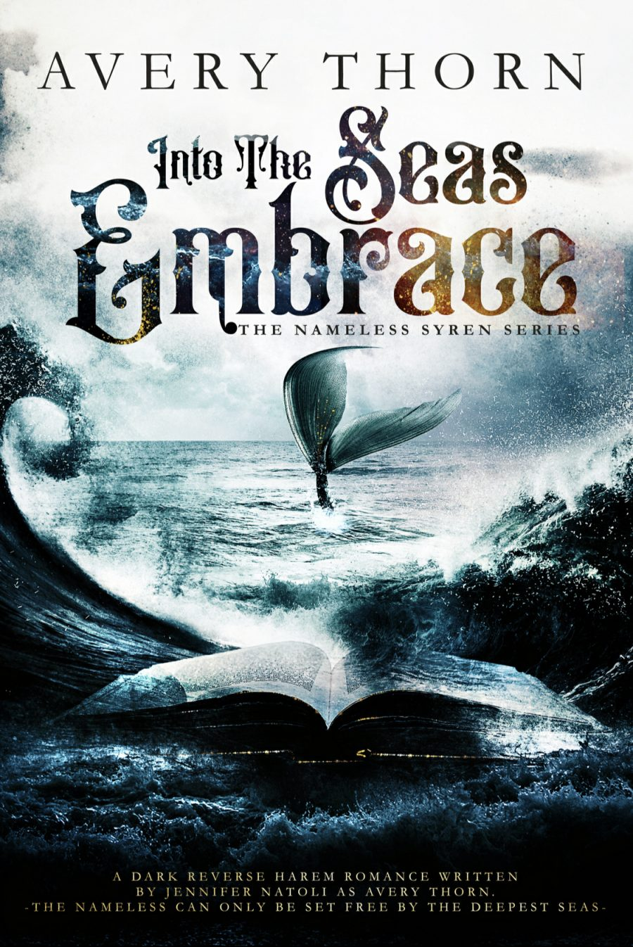 Into The Seas Embrace by Avery Thorn - A Book Review #BookReview #RH #SlowBurn #Fantasy #WhyChoose #Mermaids #NA #ReverseHarem