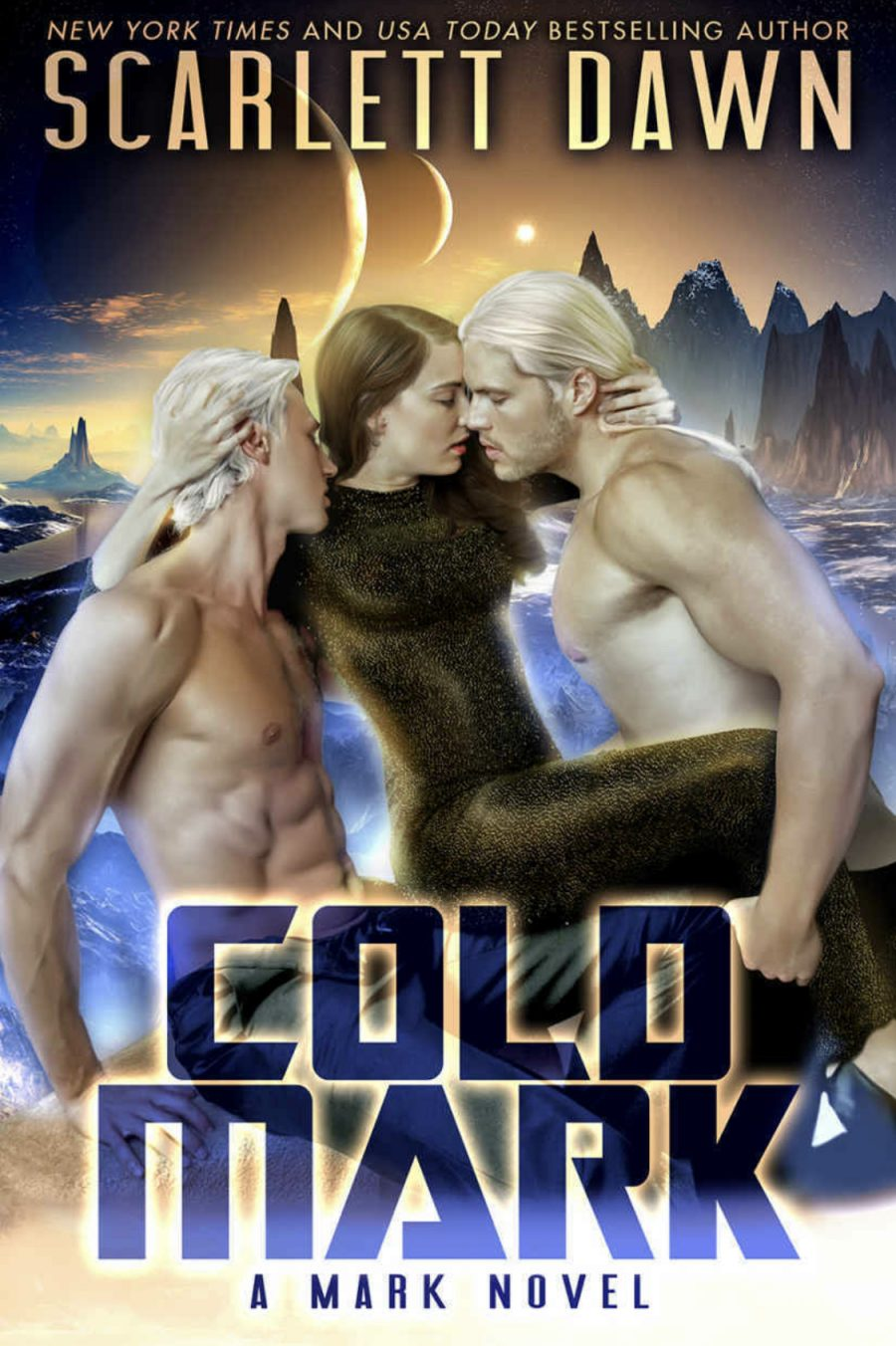 Cold Mark by Scarlett Dawn - A Book Review #BookReview #SciFi #SciFiRomance #Menage #HEA #OlderSeries #KindleUnlimited #KU