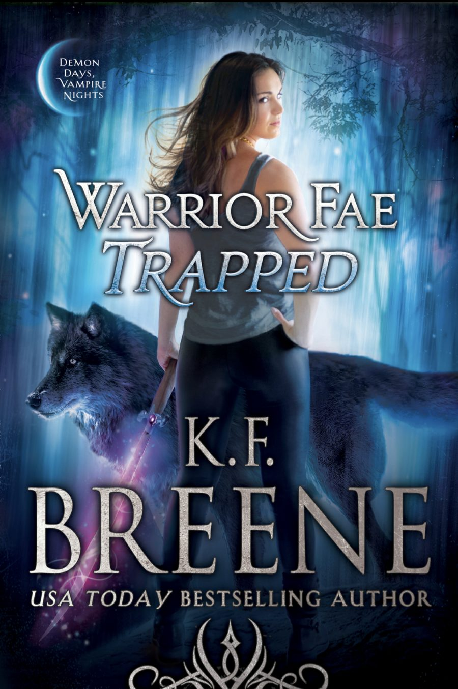 Warrior Fae Trapped by K.F. Breene - A Book Review #BookReview #UrbanFantasy #UF #DDVN #Book7 #NewRelease #4Stars #KindleUnlimited #KU