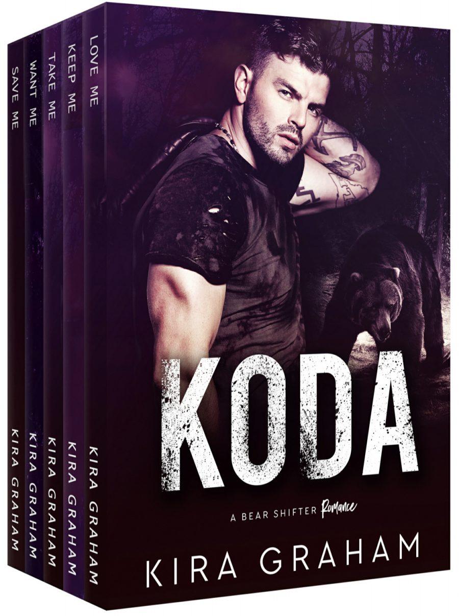 Koda: A Bear Shifter Romance Collection by Kira Graham - A Book Review #BookReview #Shifters #Bundle #5Books #Romance #PNR #KindleUnlimited #KU #3Stars #Bears