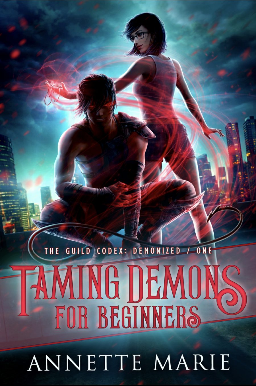Taming Demons For Beginners by Annette Marie - A Book Review #BookReview #UrbanFantasy #UF #NewSeries #KindleUnlimited #KU