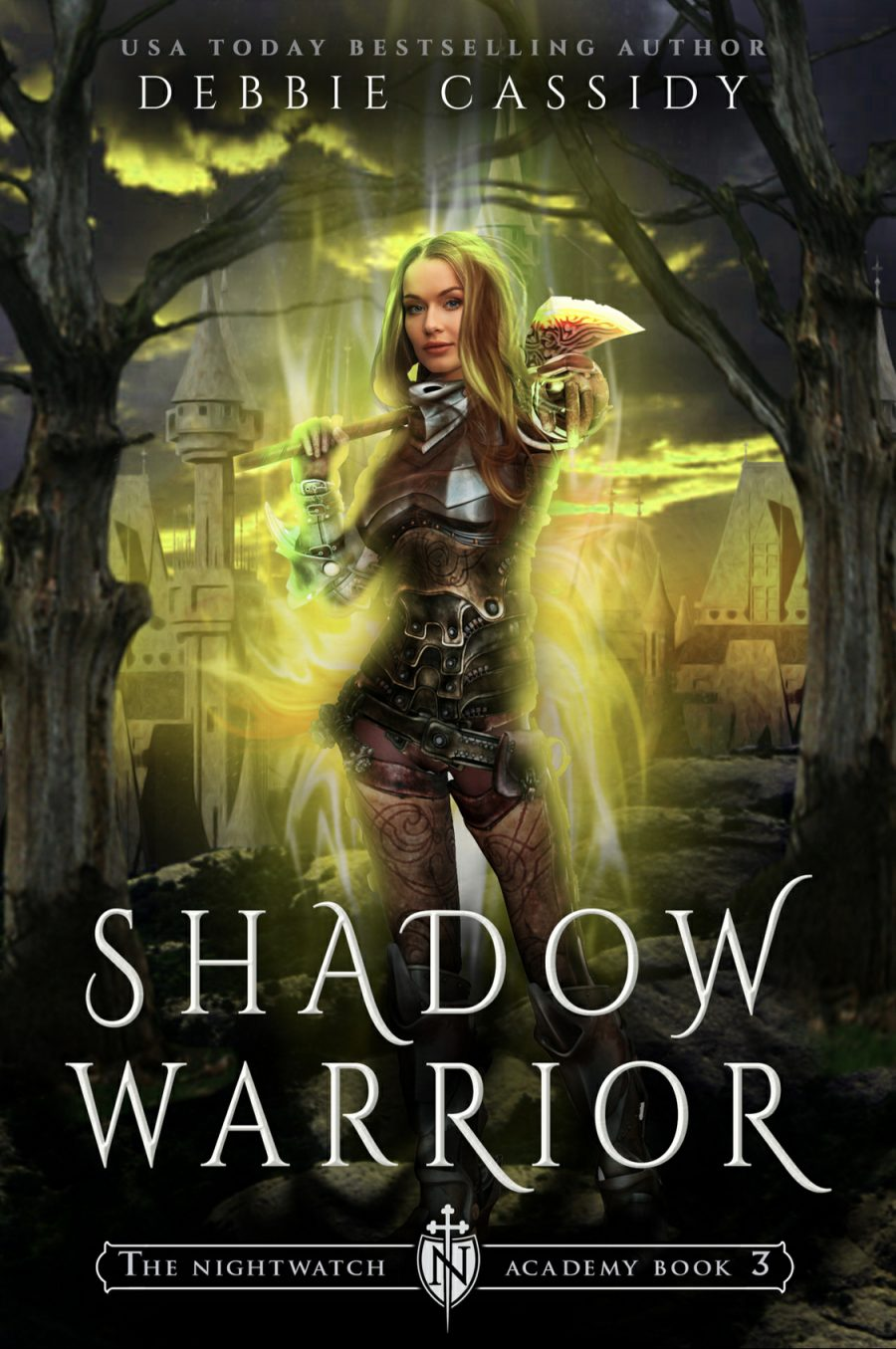 Shadow Warrior (The Nightwatch Academy - Book 3) by Debbie Cassidy - A Book Review #BookReview #ReverseHarem #RH #WhyChoose #UF #UrbanFantasy #WouldRecommend #ARC #KindleUnlimited #KU