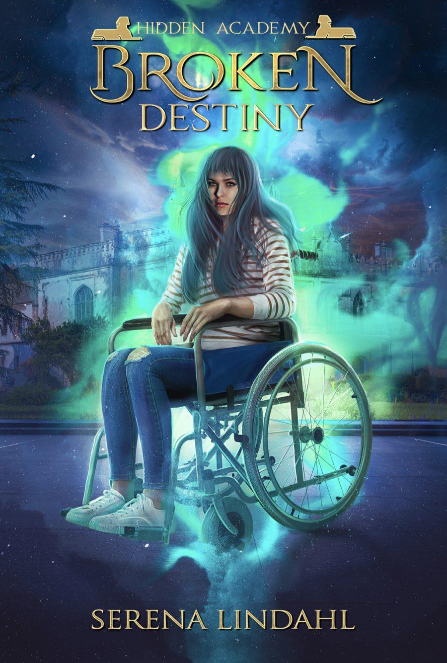 Broken Destiny (Hidden Academy - Book 1) by Serena Lindahl - A Book Review #BookReview #SlowBurn #RH #Academy #ReverseHarem #5Stars #KindleUnlimited #KU
