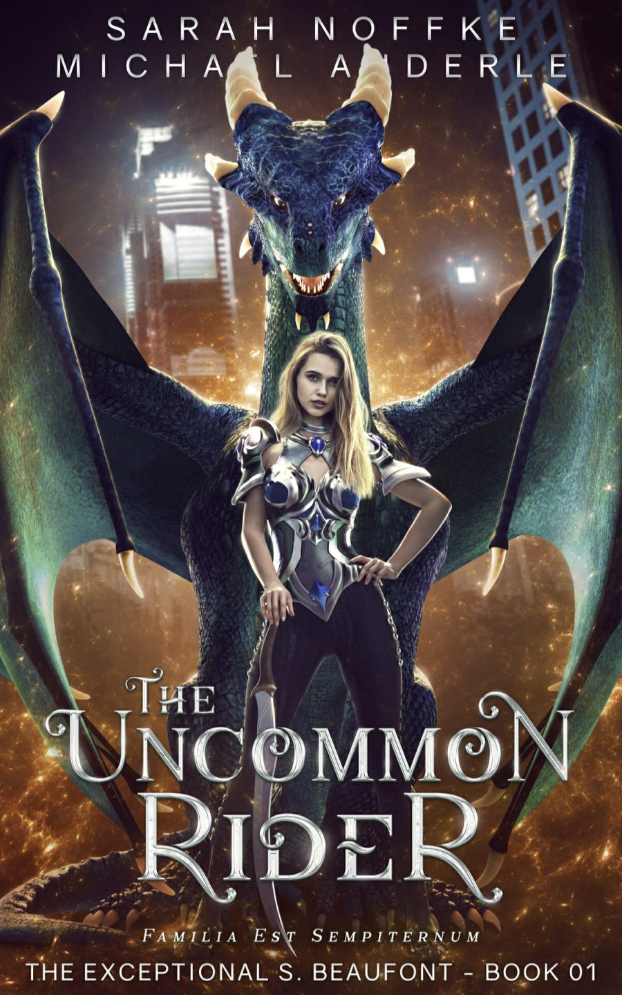 The Uncommon Rider by Sarah Noffke & Micheal Anderle - A Book Review #BookReview #YA #HighFantasy #4Stars #KindleUnlimited #KU