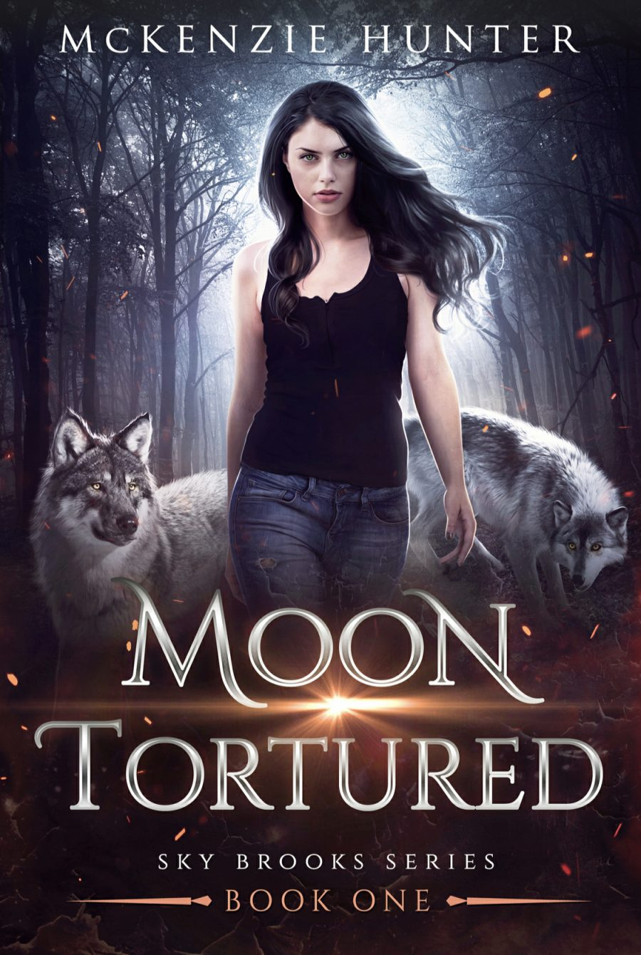 Moon Tortured (Sky Brooks - Book 1) by McKenzie Hunter - A Book Review #BookReview #UrbanFantasy #3Stars #SeriesComplete #Shifters #KindleUnlimited #KU #OlderSeries
