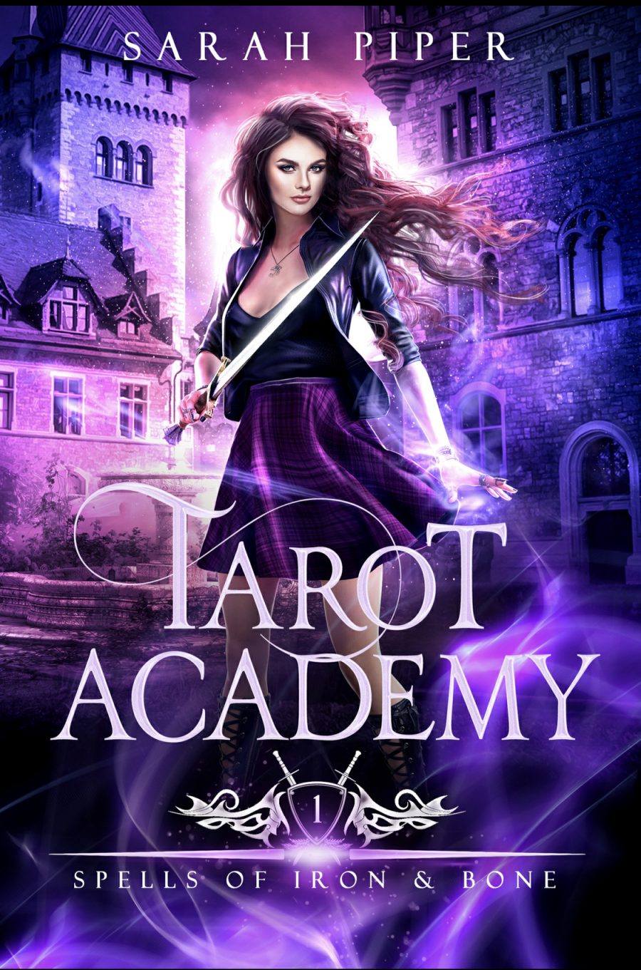 Spells of Iron and Bone (Tarot Academy - Book 1) by Sarah Piper - A Book Review #BookReview #SlowBurn #RH #ReverseHarem #Academy #PNR #4Stars #KindleUnlimited #KU #WhyChoose