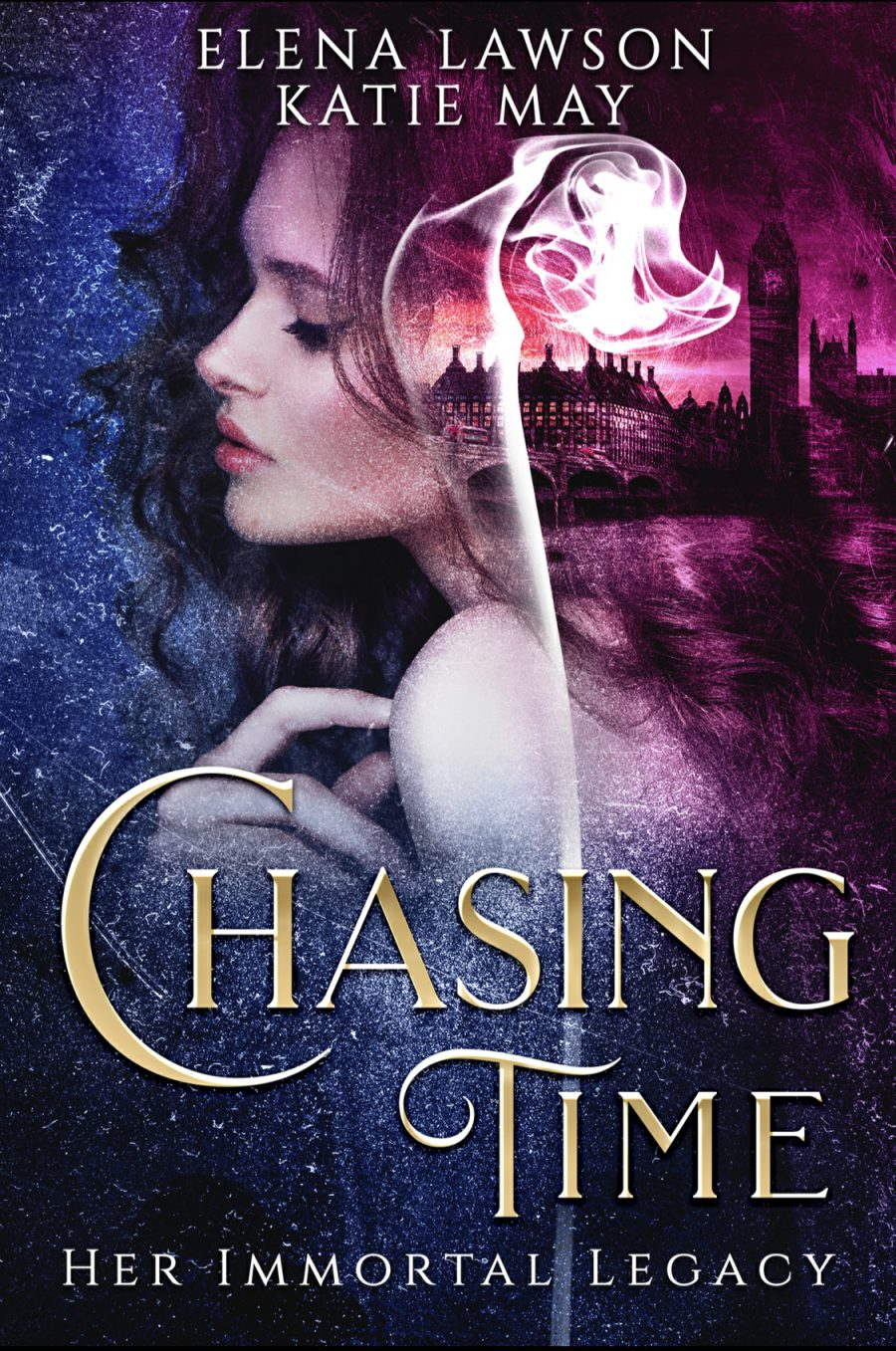 Chasing Time (Her Immortal Legacy - Book 1) by Katie May & Elena Lawson - A Book Review #BookReview #TimeTravel #RH #SlowBurn #KindleUnlimited #5Stars #KU