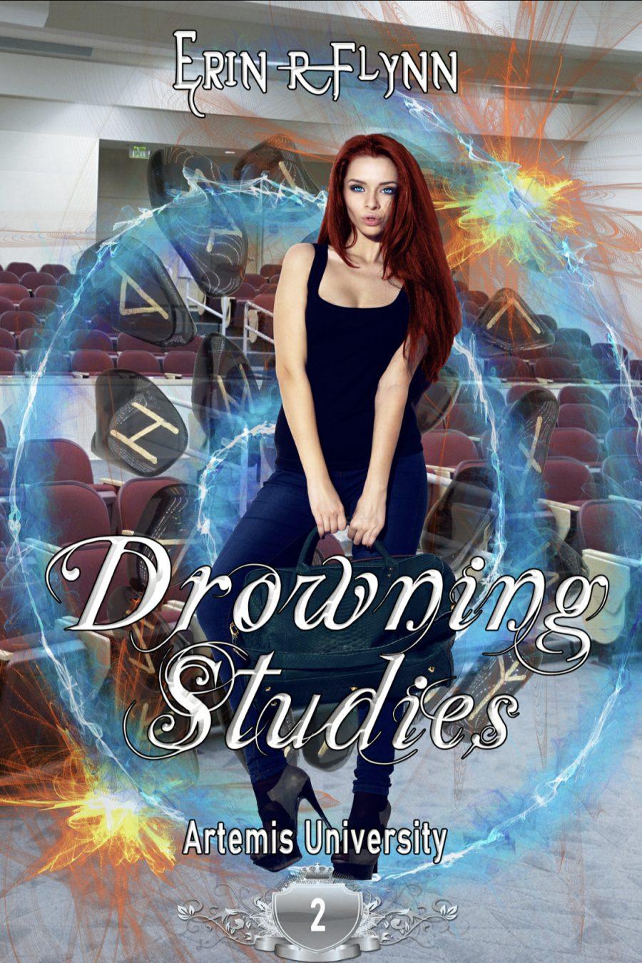 Drowning Studies (Artemis University - Book 2) by Erin R. Flynn - A Book Review #BookReview #Academy #SlowBuild #MediumBurn #RH #4Stars #KindleUnlimited #KU