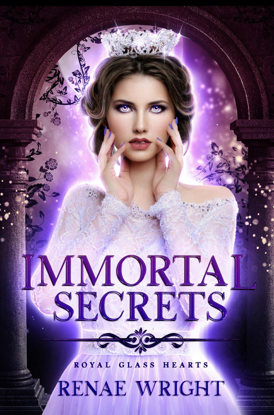 Immortal Secrets by Renae Wright - A Book Review #BookReview #4Stars #SlowBurn #RH #Fairytale #FriendGoals #KindleUnlimited #KU