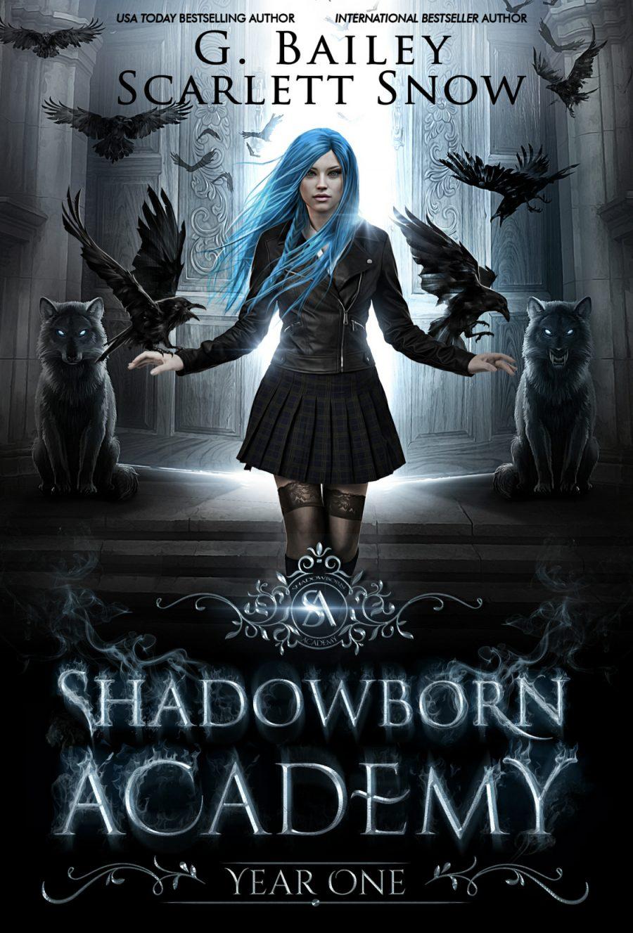 Shadowborn Academy: Year One by G. Bailey & Scarlett Snow - A Book Review #BookReview #4Stars #SlowBurn #RH #Academy #Dark #Fantasy #KindleUnlimited #KU