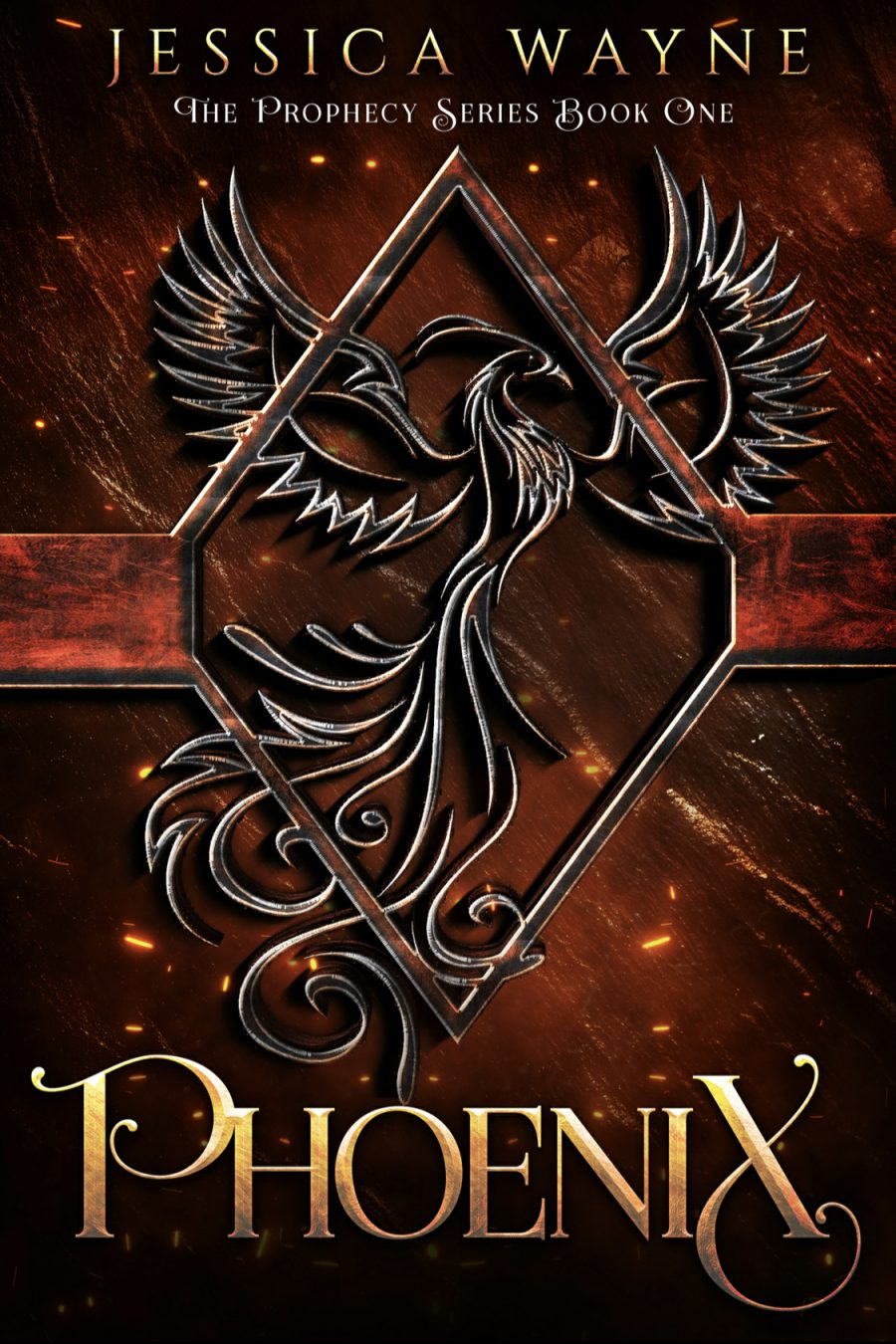 Phoenix (The Prophecy Series - Book 1) by Jessica Wayne - A Book Review #BookReview #UrbanFantasy #Fantasy #SeriesComplete #4Stars #Magic #KindleUnlimited #KU