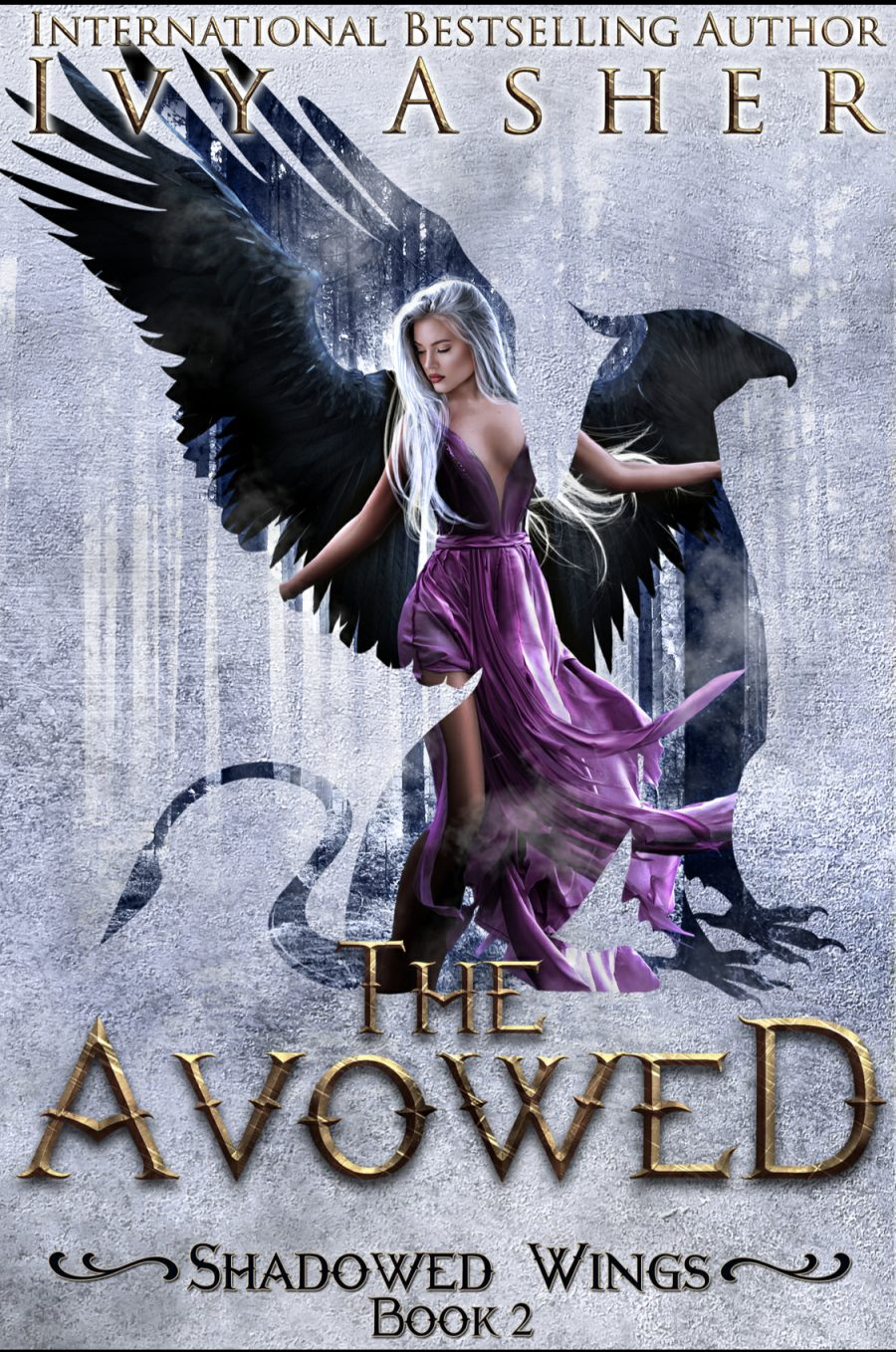 The Avowed by Ivy Asher - A Book Review #BookReview #5Stars #Book2 #Fantasy #RH #MediumBurn #ReverseHarem #WhyChoose #Gryphons #KindleUnlimited #KU