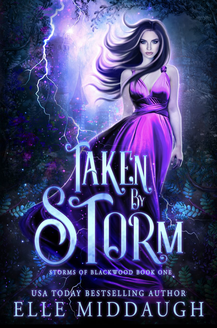 Taken by Storm (Storms of Blackwood - Book 1) by Elle Middaugh - A Book Review #BookReview #FastBurn #RH #3stars #PNR #Fantasy #KindleUnlimited #KU